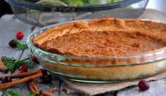 Holiday Recipes & Tips: Sweet Potato Pie