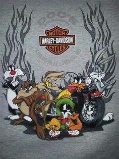 Harley Looney Toons