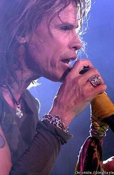"Steven Tyler.. ""Sing for the years""."