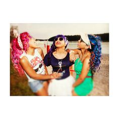 """OMG GIRLZ REPRESENT GIRL POWER WITH """"MY CLIQUE"""" ❤ liked on Polyvore featuring bahja and pics"""