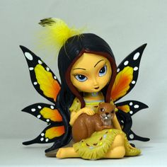 Fallentree Spirit of Protection Fairy - Spirit Maidens -Jasmine Becket Griffith