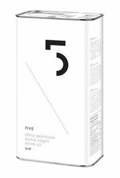 FIVE Ultra Premium Organic Extra Virgin Olive Oil on Packaging of the World - Creative Package Design Gallery Olives, Smart Packaging, Food Packaging, Product Packaging, Packaging Ideas, Olive Oil Packaging, Edible Oil, Olive Oil Bottles, Bottle Design
