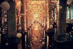 Proposal Goals: The Basilica Cistern, Istanbul, Turkey