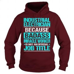Awesome Tee For Industrial Electrician - #teens #striped shirt. MORE INFO =>…