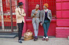 SAs Top Sartorialists @kungwanheay @Wanda_pronto @ScoobieW Dapper Men, Great Photos, Mens Fashion, Tops, Building, Pink, Style, Moda Masculina, Construction