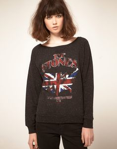 Rolling Stones sweat top, half price in the sale...