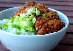 Sesame Tonkatsu - Breaded Pork Cutlet