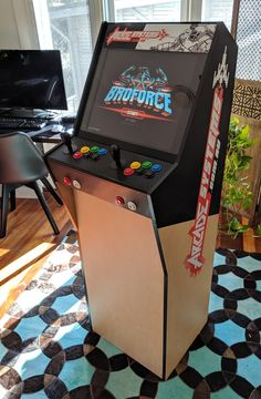 Relive the glory days of era arcade machine gaming. Arcade Systems builds new custom arcade machines for your home or business. Arcade Bartop, Arcade Table, Arcade Room, Gaming Accessories, Arcade Machine, Cabinet Ideas, Cabinet Design, Pinball, Arcade Games