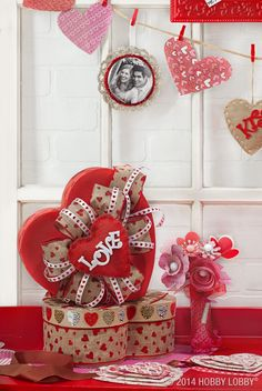 215 Best Valentine's Day Decor & Crafts images in 2019 | Valentines