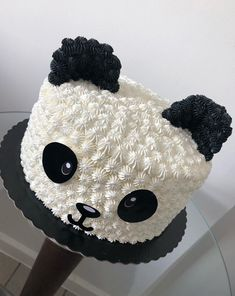 45 ideas cupcakes decorados panda for 2019 Cake Decorating Techniques, Cake Decorating Tips, Pretty Cakes, Cute Cakes, Panda Birthday Cake, Bolo Panda, Panda Cupcakes, Panda Baby Showers, Panda Party