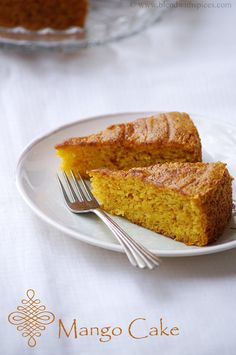 Omg....i want to try this cake! Indian Cuisine: Vegan Mango Cake Recipe ~ Eggless Mango Cake Recipe ~ Step by Step Pictures