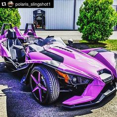 """Holy purple slingshot Batman!"" #Feature @polaris_slingshot1 ・・・ Beautiful wow Polaris ..."
