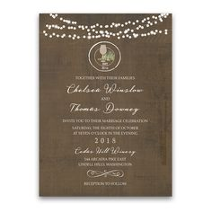 Rustic Vintage Winery Vineyard Wedding Invitations. Rustic Vintage Winery Vineyard Wedding Invitations. Your vineyard wedding just will not be complete without the loveliness of this Rustic winery wedding set. Welcome to the Laurent Suite.