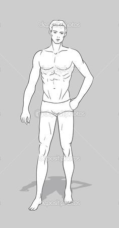 Image result for male croquis