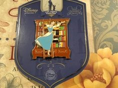 #disney Disney 110th Legacy Beauty and the Beast Belle bookcase pin le 250 please retweet