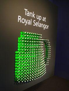 Pos Display, Bottle Display, Wine Display, Display Design, Booth Design, Product Display, Pop Drink, Tiger Beer, Beer Art