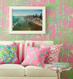 The Glam Pad: Lee Jofa and Lilly Pulitzer Introduce New Fabrics and Wall Coverings