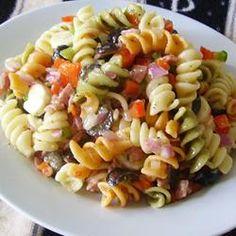 Quick Italian Pasta Salad,