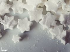 Marshmallow-Sterne #marshmallows #stars #sterne #fanoona #winter #christmas