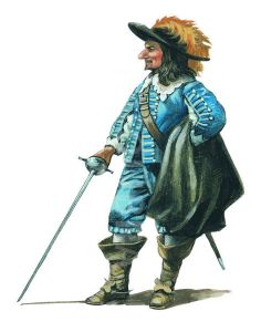 an analysis of the main character of cyrano de bergerac Characters whose names are followed by an asterisk are known to have been historical figures cyrano de bergerac the main character of the play he is a soldie.