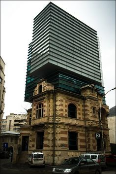 National Architects Union Headquarters, Bucharest, Romania.