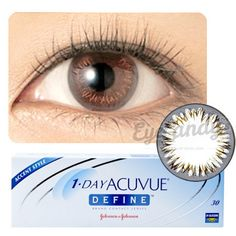 Check out these cute cosmetics from www.eyecandys.com! Acuvue Define 1-Day Natural Shine