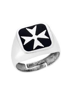 Ασημένιο Ανδρικό Δαχτυλίδι 925 με Σμάλτο Αναφορά 023067 Ένα όμορφο δαχτυλίδι  που μπορείτε να χαρίσετε σε έναν άνδρα το οποίο είναι κατασκευασμένο από  Ασήμι ... 7d2fcb49251