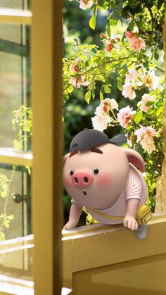 Pig Wallpaper, Disney Wallpaper, This Little Piggy, Little Pigs, Cute Piglets, 3d Art, Small Pigs, Pig Drawing, Pig Illustration