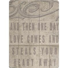 Artehouse LLC 'One Day' by Lisa Weedn Textual Art on Wood