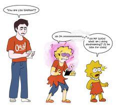 Tg Tf, Animation Cel, Simpsons Art, Found Art, Thomas The Tank, Lisa Simpson, Cartoon Characters, Family Guy, Deviantart