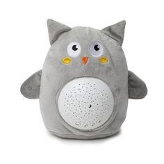LED Night Light Soft Stuffed Animals With Music & Stars - Owl