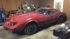 Plastic Project: Slumbering 1976 Corvette #USA #Corvette - https://barnfinds.com/plastic-project-slumbering-1976-corvette/