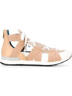 VIONNET Elasticated Band Sneakers. #vionnet #shoes #sneakers