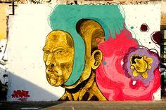 Mural Cala Tarida, Ibiza - Bloop Festival 2012