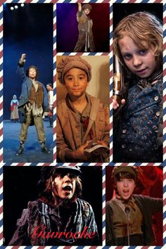 Gavroche over the years