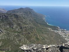 View from table mountain Table Mountain, Mountains, Water, Travel, Outdoor, Gripe Water, Outdoors, Viajes, Destinations