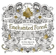 Enchanted Forest: An Inky Quest & Coloring Book __ bohemianizm Holiday Gift Guide 2015: 75 Awesome Art-Related Present Ideas | bohemianizm