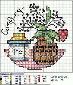 Patrones punto de cruz (solo country) (pág. 21) | Aprender manualidades es facilisimo.com