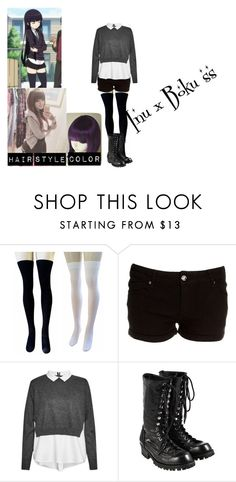 """""""Inu x Boku SS Ririchiyo cosplay"""" by jennakat248 ❤ liked on Polyvore featuring French Connection and Comme des Garçons"""