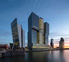 Amazing Architecture, Rotterdam Architecture, Contemporary Architecture, Dutch Netherlands, Asia City, Tower Building, Most Beautiful Cities, Brutalist, Best Cities