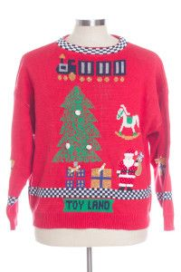 Red Ugly Christmas Pullover 30944