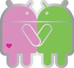 A Estrambólica Arte = ciência + tecnologia + arte: Imagem nerd-geek da semana: Android apaixonado