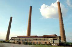 Antiga fábrica das indústrias Matarazzo, São Paulo, SP