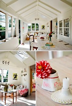 a summer retreat in denmark by the style files, via Flickr