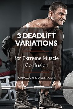 Deadlift Variations – Conventional, Sumo, and Romanian. This article gives good instructions for proper exercise form when doing standard deadlifts, sumo deadlifts and the Romanian deadlift. Either way, for great progress in building muscle and developing good body composition you need deadlifts in your life now! :-)