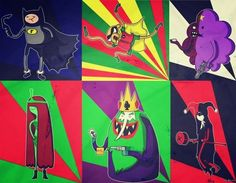Adventure time in Gotham city