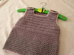 This Pinafore Dress Is So Easy, And A Perfect Gift For The Little Ones In Your Life! - Starting Chain