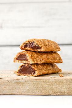 Nutella Filled Soft Granola Bars - Full of Plants