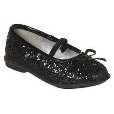 Target Mobile Site - Toddler Girl's Cherokee® Jaray Glitter Ballerina - Black