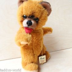 #Adorable rare teddy bear baki #1960s collector´s bear free #standing w tag ours,  View more on the LINK: 	http://www.zeppy.io/product/gb/2/301903802308/